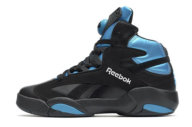 Reebok Shaq Attaq Black Azure Blue 21