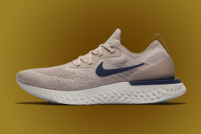 Nike Epic React Beige Blue 1