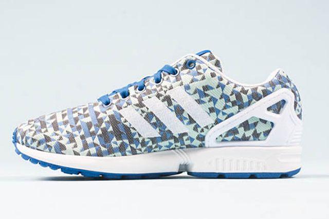 Adidas Zx Flux Weave Ocean Blue 21