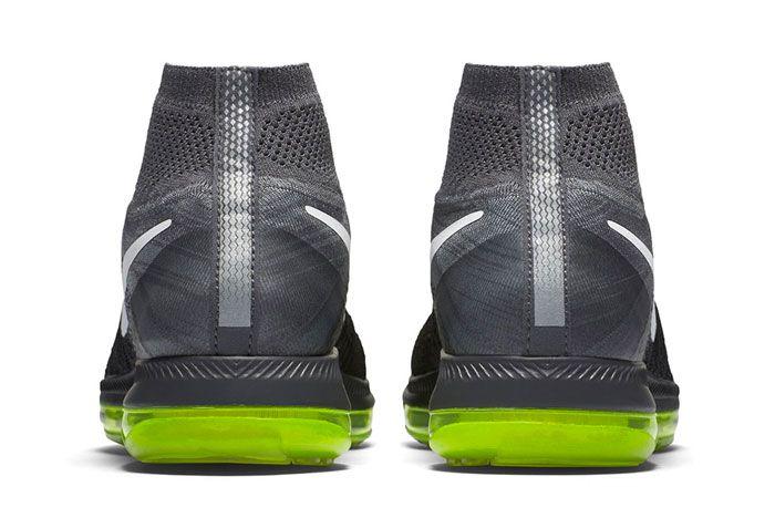 Nike Zoom All Out Flyknit Blackvolt 2