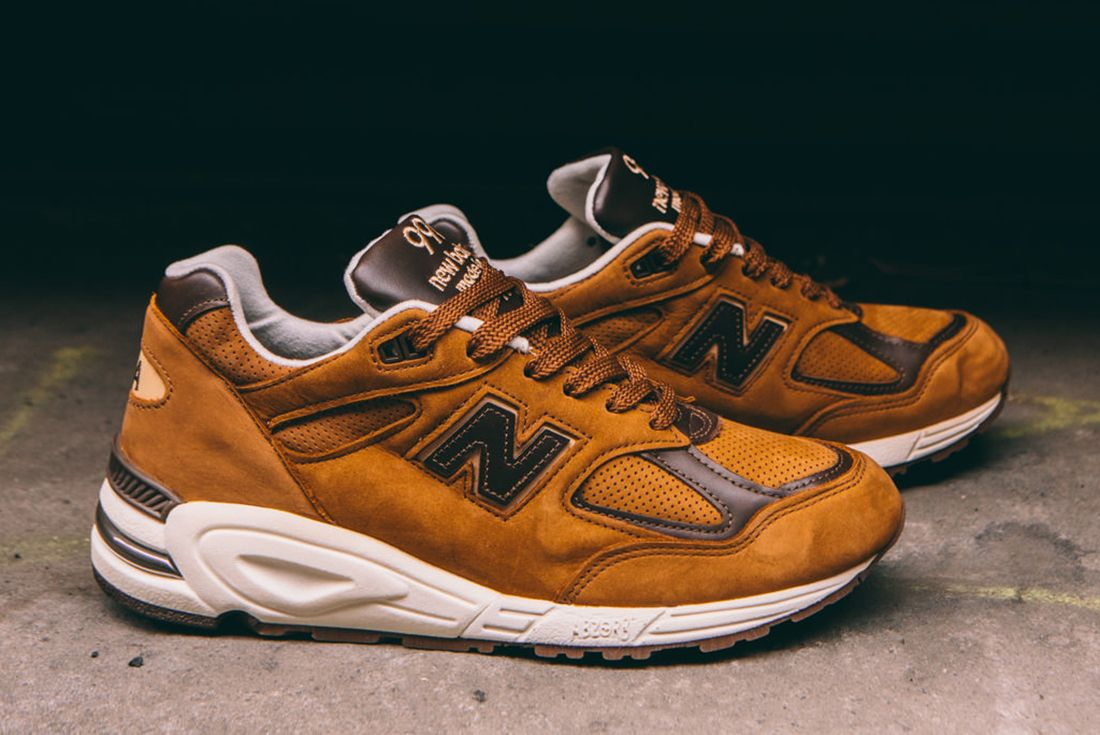 New Balance M990 Dvn2 Made In Usa Tawny Brown2