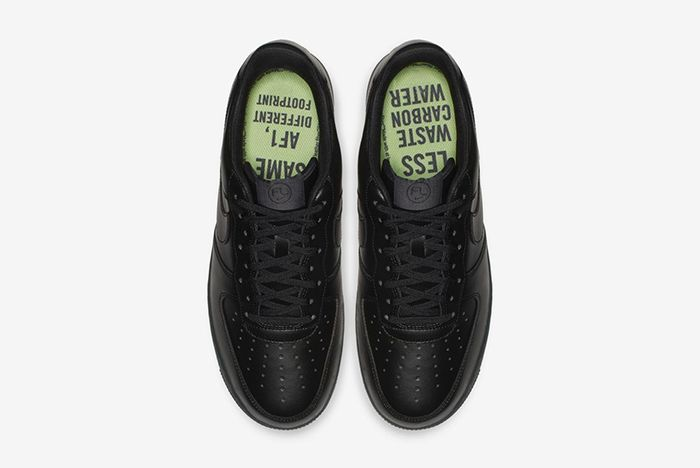 Nike Air Force 1 Low Flyleather Triple Black 3