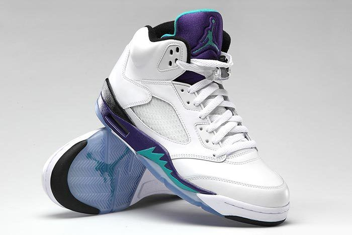 Fresh Prince Of Bel Air Air Jordan 5 Grape 6