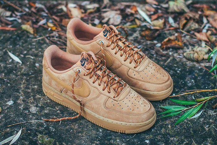 Nike Air Force 1 Wheat Toe