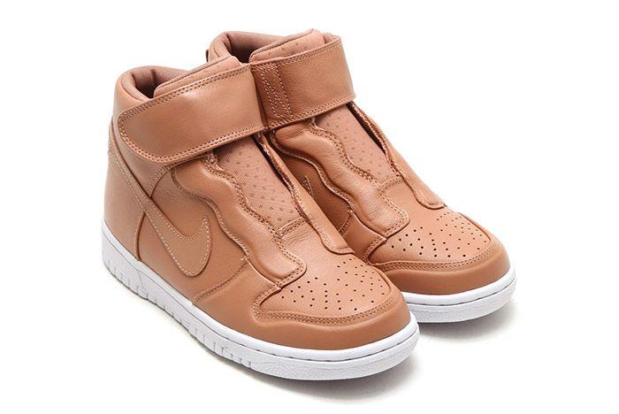 Nike Dunk Hi Ease Womens Tan 3