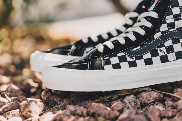 Vans Vault Sk8 Ho Checkerboard Black White 1