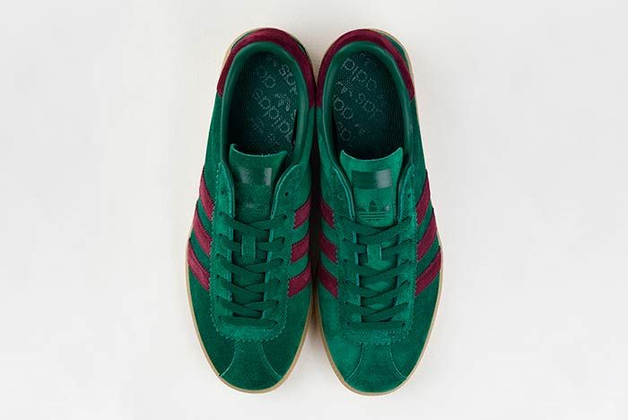 Adidas Originals Bermuda Size Exclusive Pine Greenmaroon 3