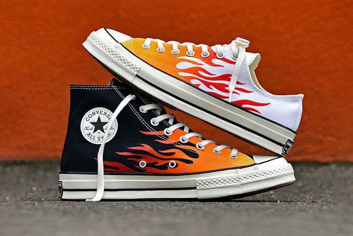 Converse Chuck 70 Flames Release Date Pair