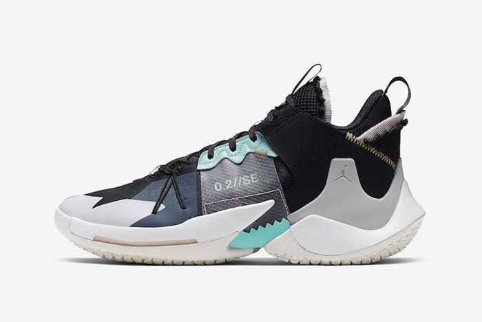 Jordan Why Not Zer0 2 Vast Grey Lateral