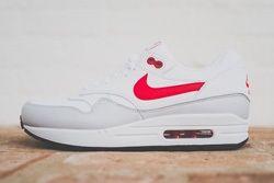 Nike Air Max 1 Leather Og White Uni Red Thumb