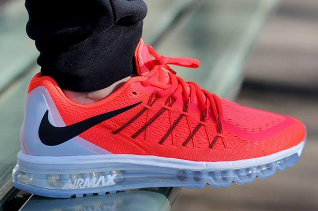 Nike Air Max 2015 Bright Crimson 2