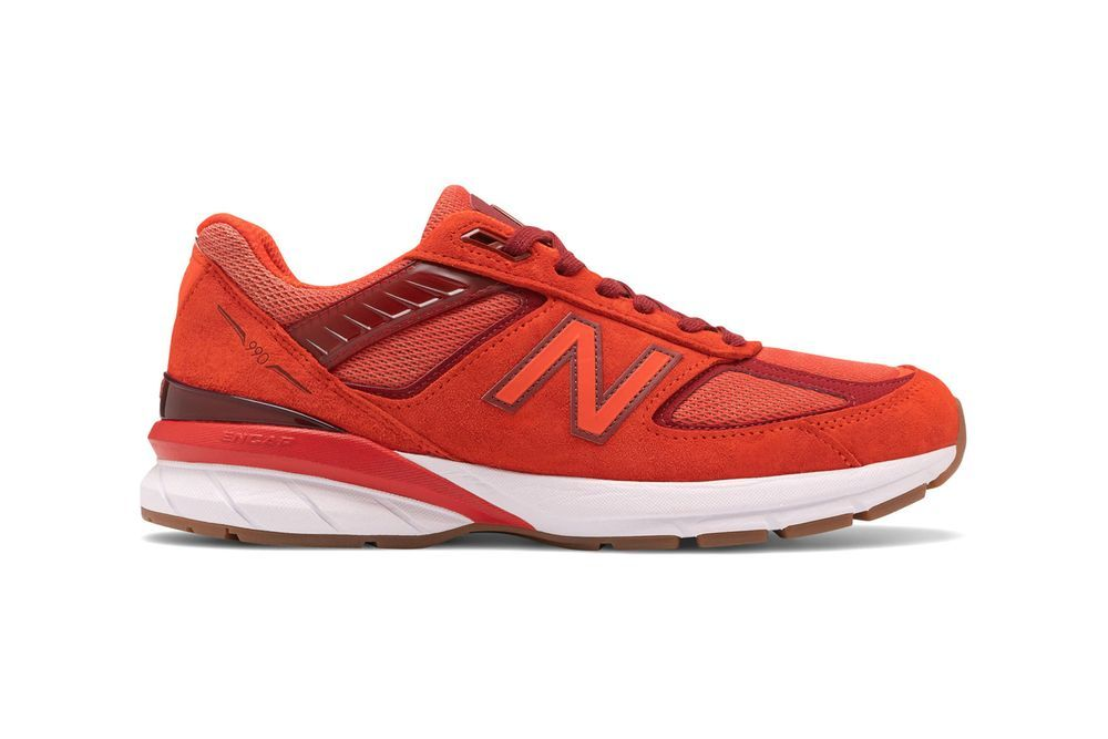 New Balance 990 Molten Lava Right