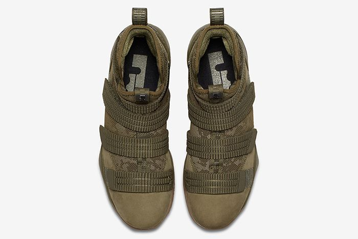 Nike Lebron Soldier 11 Olive 4