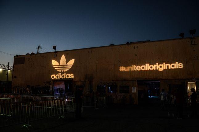 Adidas Originals Los Angeles Pop Up Concert Venue 1