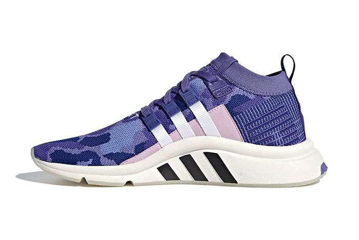 Adidas Eqt Support Mid Adv Purple Camo 1
