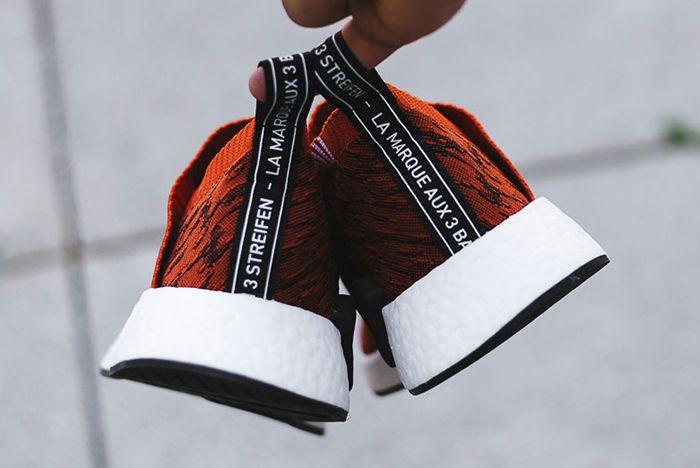 Adidas Nmd City Sock 2 Harvest Red 1