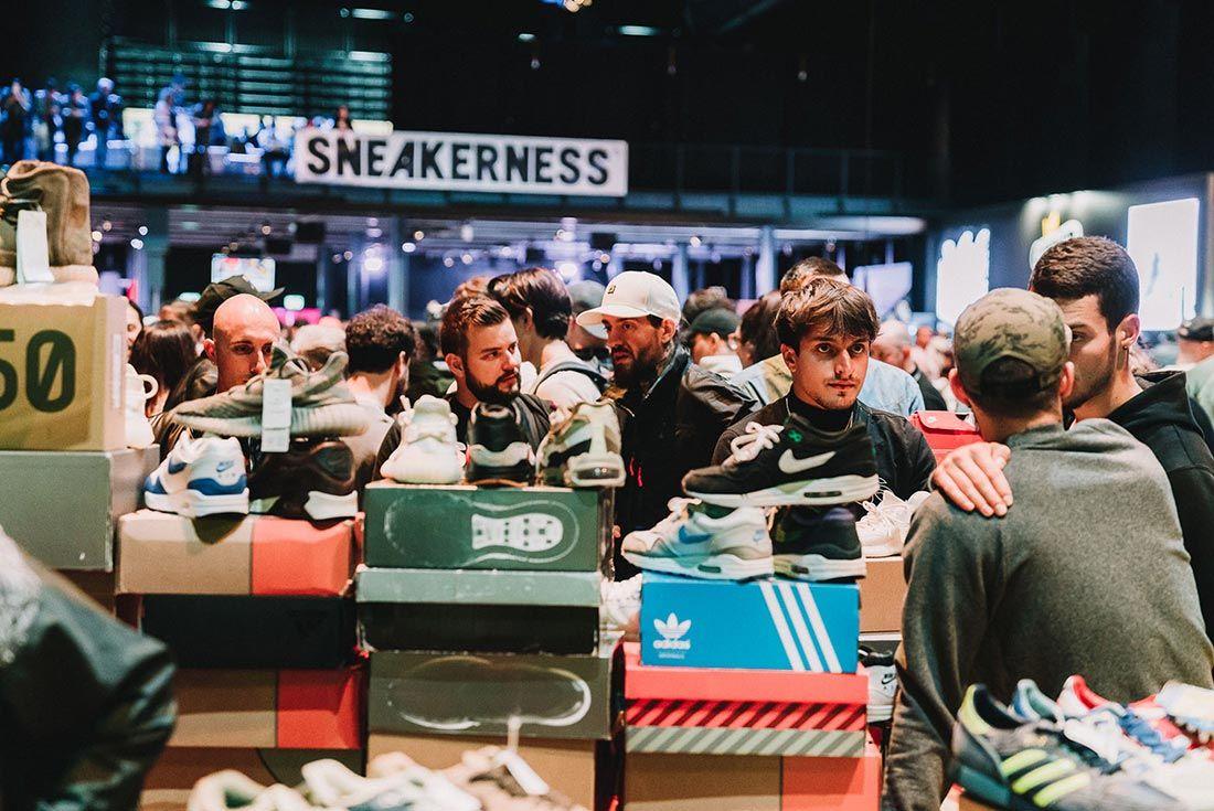 Sneakerness Even Recap Busy Vendor