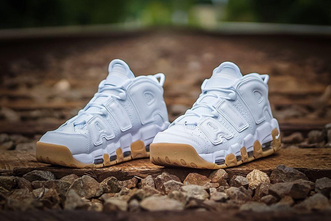 Nike Air More Uptempo ' White Gum'2
