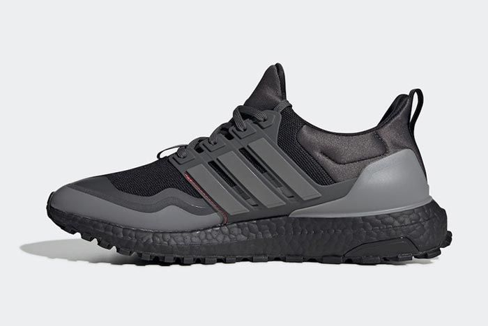 Adidas Ultraboost All Terrain Black Red Grey Medial