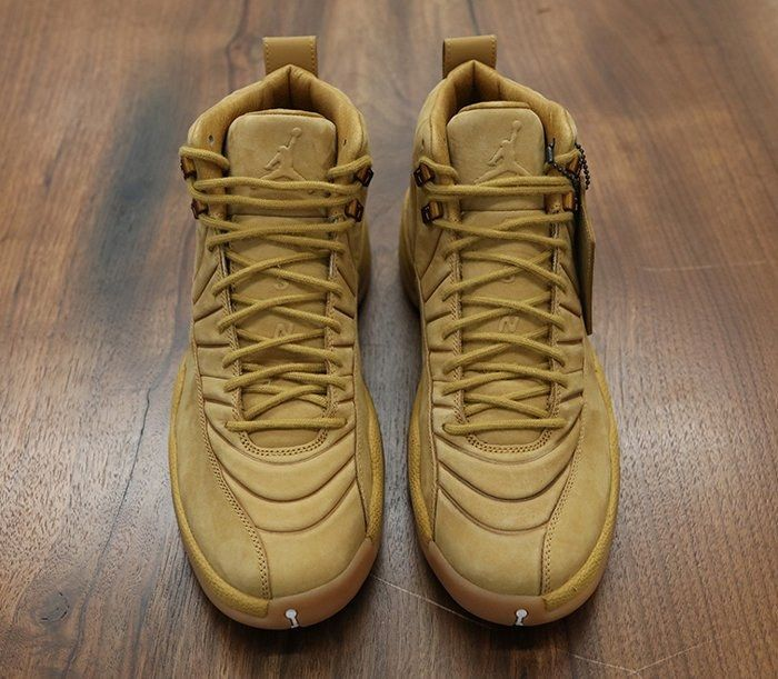 Psny X Air Jordan 12 Wheat3