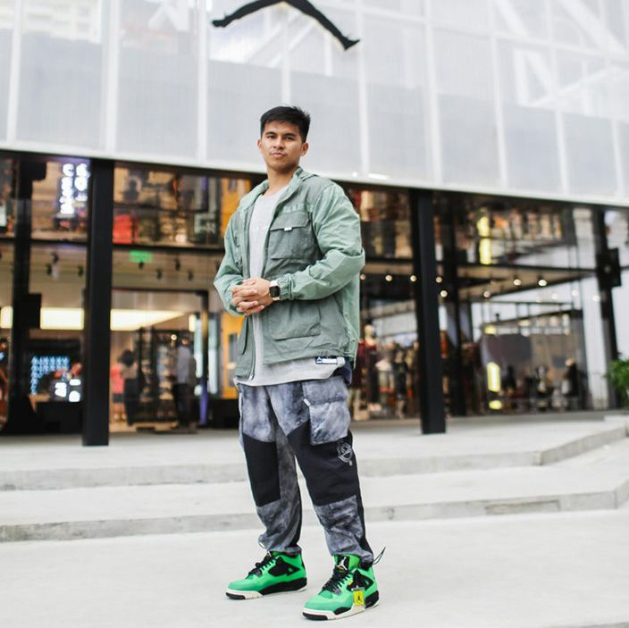 Kiefer Ravena jordan brand signing announcement shots