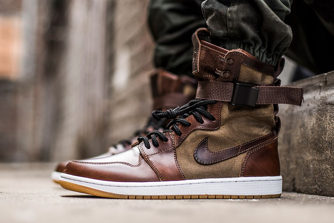 The Shoe Surgeon Reveals Special Field Air Jordan 1