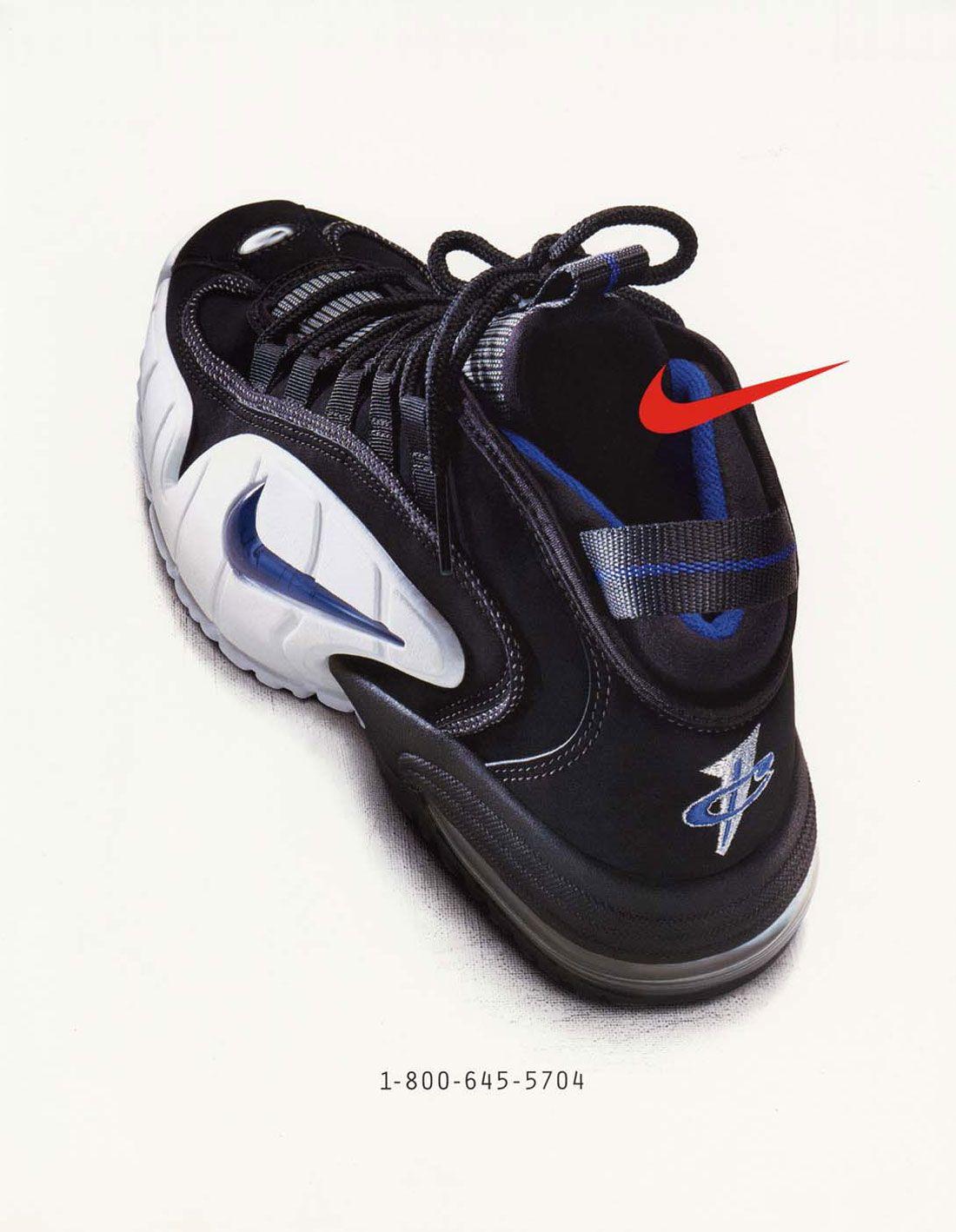 Nike Air Penny Phone Ad 1995