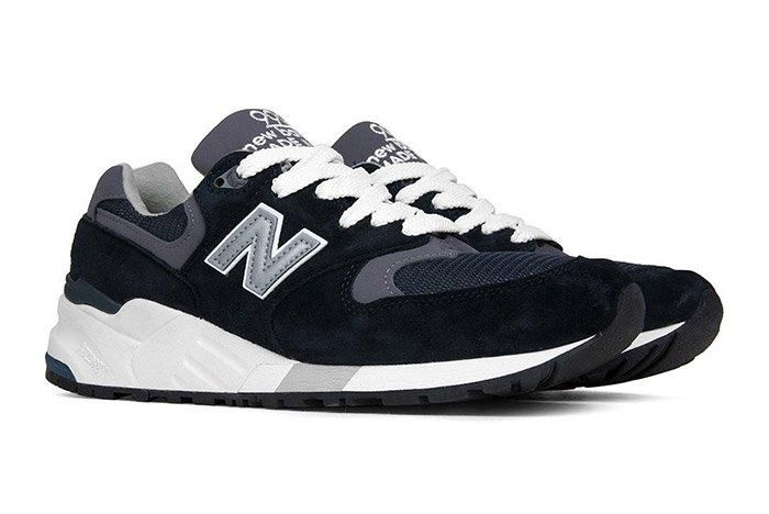 New Balance 999 Made In Usa Navy Pewter 3