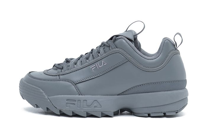 Graphpaper Fila Disruptor Grey Release Date Lateral