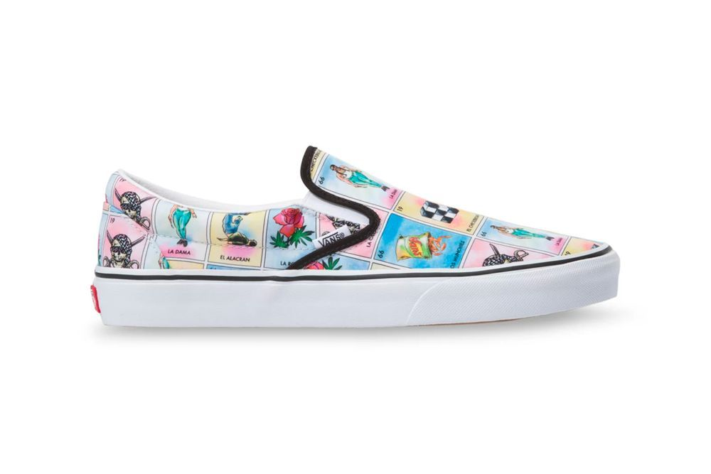 Vans Lotería Slip-On Right