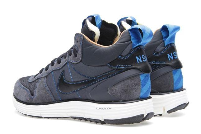 Nike Lunar Solstice Mid Sp Anthracite Heels 1