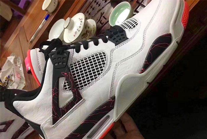 Air Jordan 4 Light Crimson Release 1