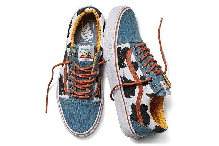 Toy Story Vans Old Skool Woody
