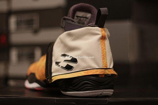 Jordan Xx8 Yellow Camo Heel 1