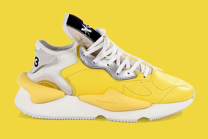 Adidas Y 3 Kaiwa Yellow 1