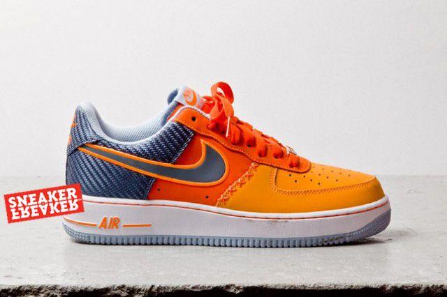 Nike Air Force 1 Low Team Orange Total Orange 2