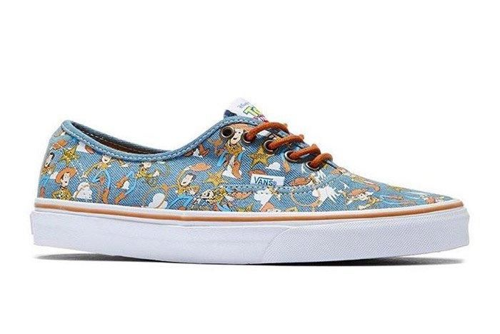 Toy Story Vans Authentic Woody