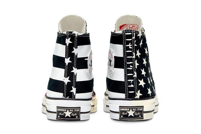 Converse Chuck Taylor All Star 70 Stars And Stripes Black Heel
