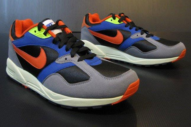 Nike Air Base Ii 2013 Blue Grey Orange Black Quater 1