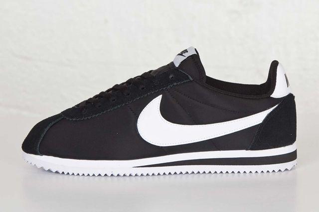 Nike Cortez Nylon Black White Sns Bump 3