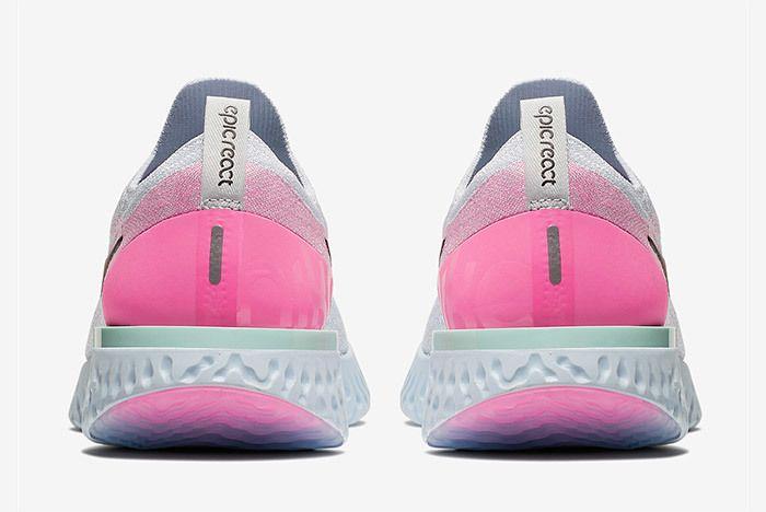 Nike Epic React Womens Pure Platinum Pink 6