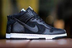 Nike Dunk Cmft Croc Blackwhite Thumb