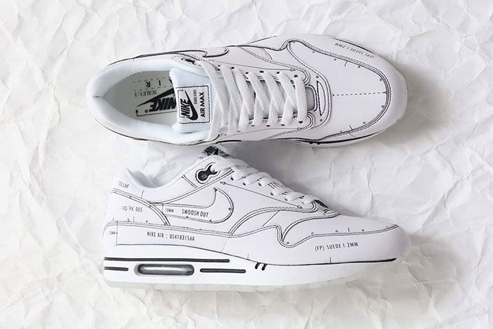 Nike Air Max 1 Sketch To Shelf Black Top 2