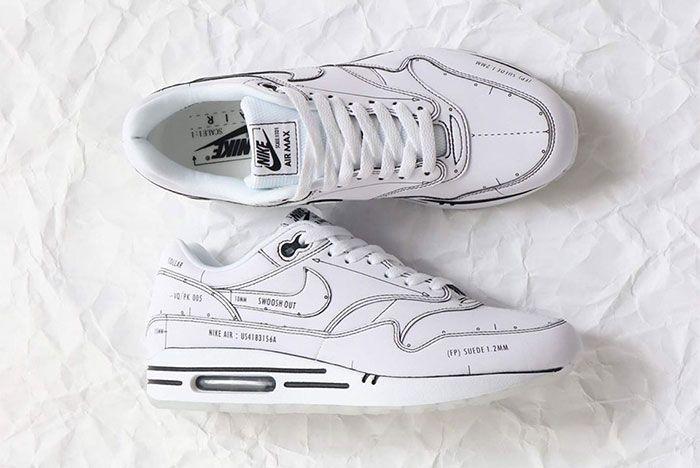 Nike Air Max 1 Sketch To Shelf Black Top 2
