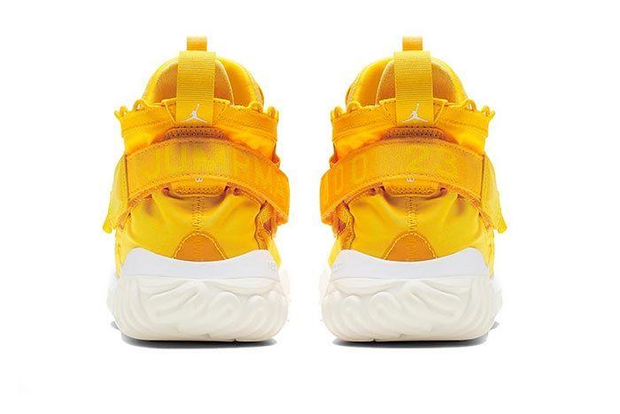 Jordan Proto React Yellow White Heels