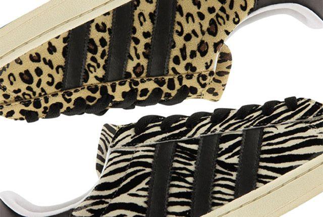 Adidas Abc Mart Superstar Animal Pack 1