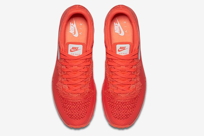Nike Air Max 1 Ultra Flyknit Red 3