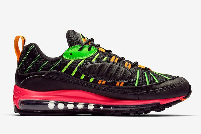 Nike Air Max 98 Neon Highlighter Ci2291 083 Release Date 2