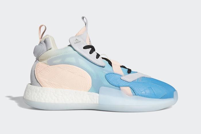 Adidas Marquee Boost 2 0 Pastel Lateral