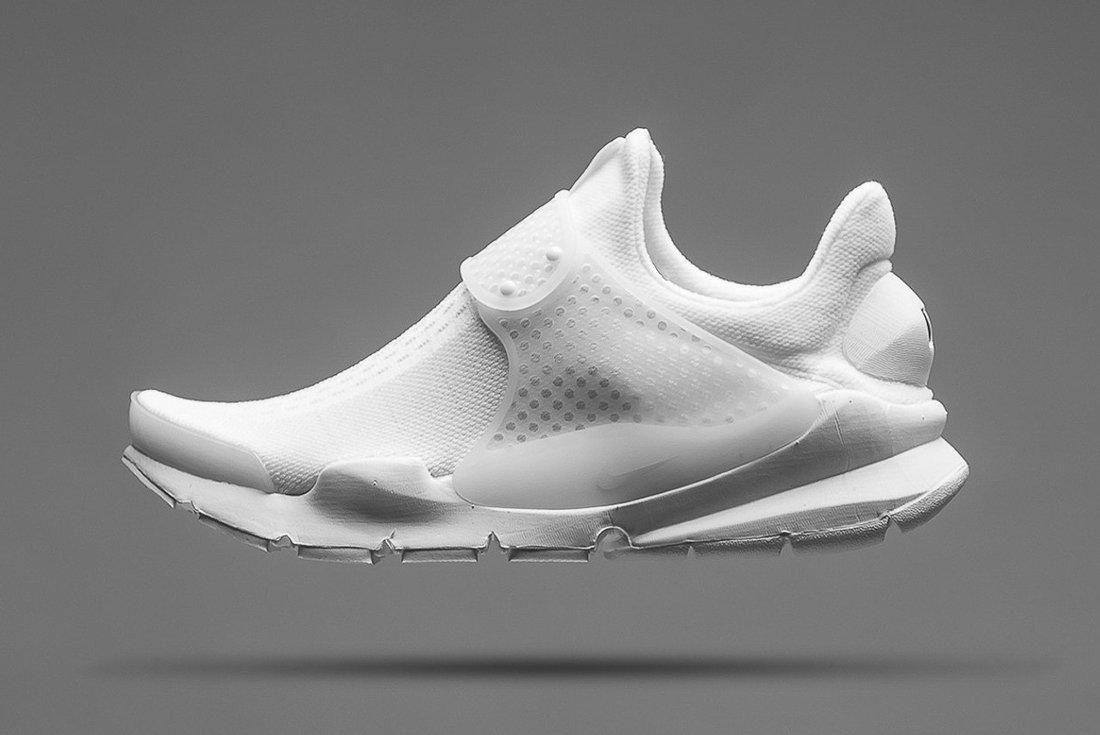 Nike Sock Dart Triple White 8